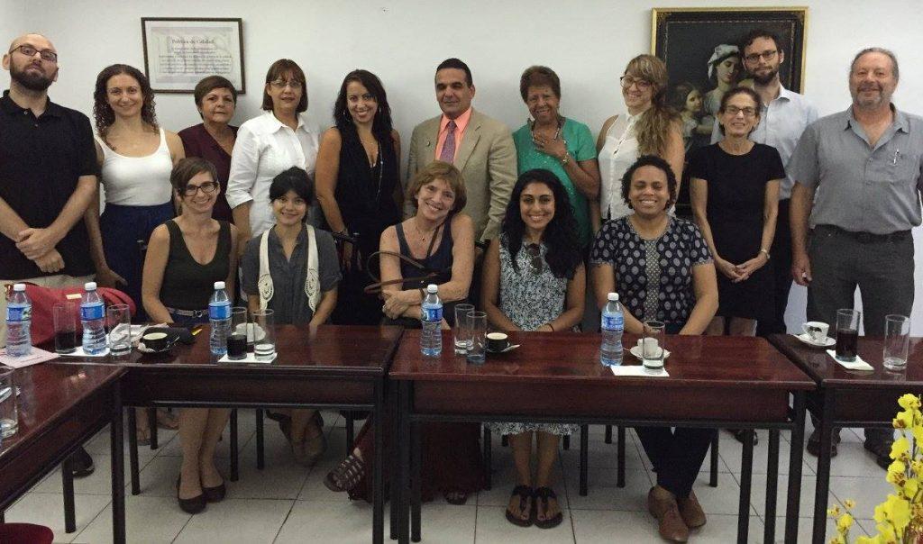 NLG delegation members with ONBC leadership. (Photo courtesy of Natasha Lycia Ora Bannan)