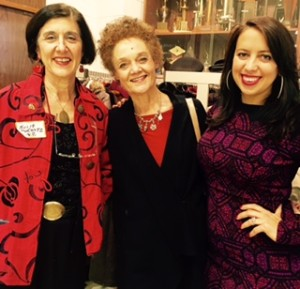 From left: NLG Detroit and Michigan NLG Julie Hurwitz, law professor and former Communications Secretary for the Black Panther Party Kathleen Cleaver, and NLG President Natasha Lycia Ora Bannan at the Chapter's Annual Dinner.