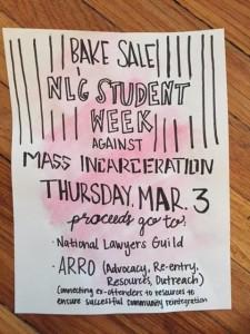 Wayne State SWAMI bake sale flyer