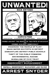 wanted rick snyder